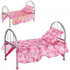 Кроватка 9342/WS 2772,  12шт,  железная
