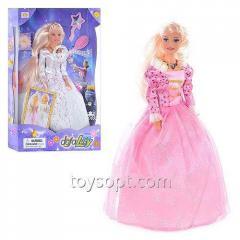 Кукла Defa Lucy 20961, 24шт/2, 2 вида,батар,свет,муз,с расческой,зеркалом, в кор.22*6*34см