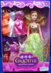 Кукла типа Барби 88081D-1, 72шт/2, 12 видов, с одеждой, с куколкой, аксесс, в кор.33*22*6см