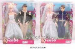 Кукла типа БарбиЖених и Невеста FB017-1/2, 60шт/2, 2 вида, в кор.33*25*6см