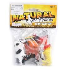 Животные 8503, 96шт, домашние, 6шт, от 7,5 см, в пакете, 18-23-3см