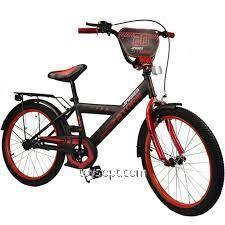 "Bicycle 2 wheels 20 """" 182042 (1 pc.) With a bell, mirror, hand brake, without additional wheels (pcs)"