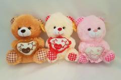 Медведь с сердцем 23 см 162059