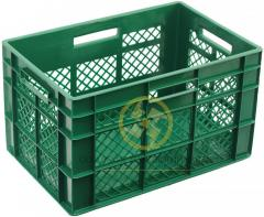 Plastic boxes with addition of primary and