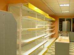 Prateleiras metálicas para lojas