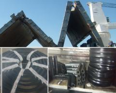 Rubber consolidations for hatch closings