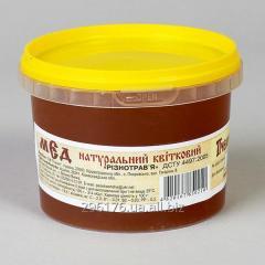 Flower natural honey to a raznotravya