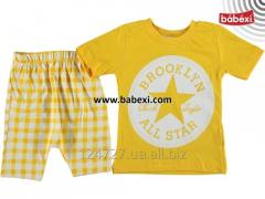 Suit summer for the boy for 9, 12 months 2, 3