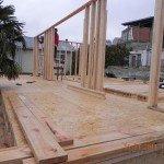 Wooden dvutavrovy rack of 150х55 mm
