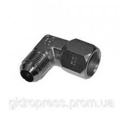 Angle adjustable JIC 90 ° with non-removable nut,