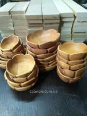 Salad bowls from a tree.