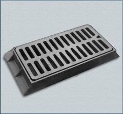 Rainwater drainage cast iron DM