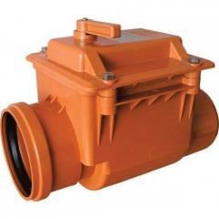 The valve reverse sewer PVC 110