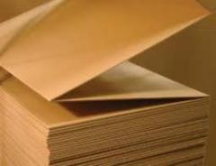 Corrugated cardboard sheet, Odessa