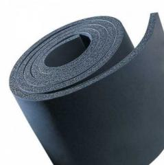 Isolation from the made foam synthetic EUROBATEX rubber in sheets (rolls)