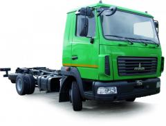 Портальный мусоровоз на шасси МАЗ-4371N2