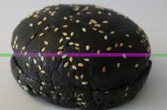 Булочка для гамбургера черная с кунжутом 40 гр 4