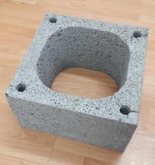 Blocks for collective chimney systems