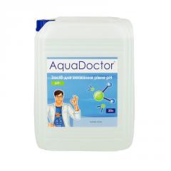 Средство для понижения кислотности воды рН minus жидкий состав AquaDoctor - Канистра 20л