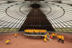 Designs of granaries (silos) of Sioux Steel