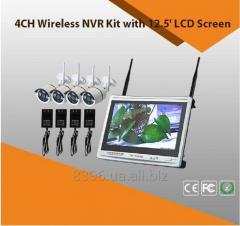 Беспроводная видеосистема наблюдения 4CH NVR