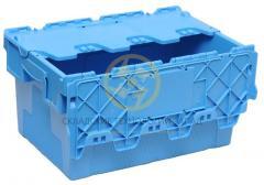 Ящики с крышкой для сыпучих продуктов 600х400х315