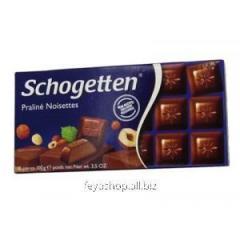Шоколад Schogеtten Praliné Noisettes орех.пралине