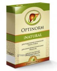 Капсулы для здоровья печени OptiNorm Оптинорм