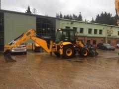 The excavator the Loader of JCB 3CX of 100 h.p. from an ofitsial!