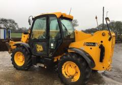 Telescopic loader of JCB 533-105.