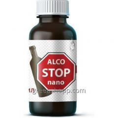 AlcoSTOP nano (AlkoStop nano) - means for