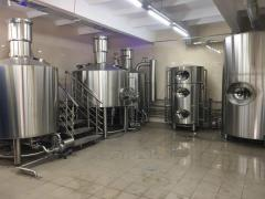 Устаткування для виробництва пива