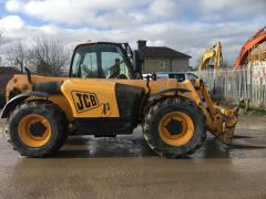 Telescopic loader of JCB 531-70 2008.