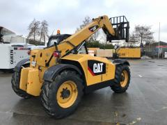 Telescopic loader of CAT TH406.
