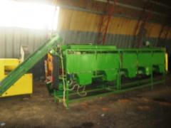 Калиброватель огірка 7 м із транп. подачі Угорщина