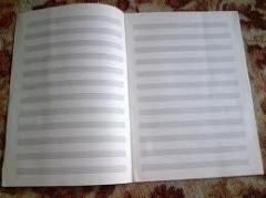 Тетрадь для нот