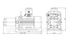 Станция перекачки / фильтрации масла HPZP/54-100-20