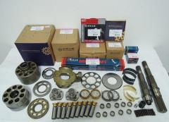 Spare parts of the hydraulic pumps