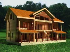 Дома каркасные деревянные под ключ