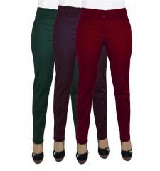 Женские брюки молодежные 419, 44-54 Коттон