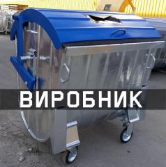 Eurocontainer for MSW, MSW, a trash can, MGB1100