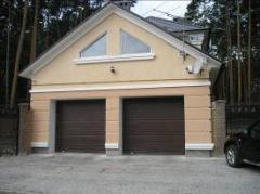 Ворота гаражные секционные  автоматик и монтаж