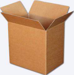 Cardboard for production of boxes