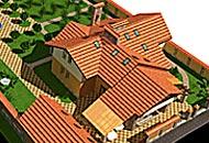 Design of an exterior: design of a facade of the