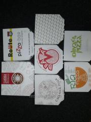 Упаковка под пиццу с вашим логотипом