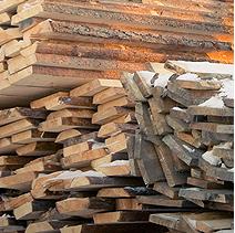 Лесопиломатериал необрезной,  строительный