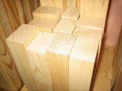 Lesopilomaterial cut, construction
