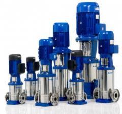 The vertical multistage pump Lowara 1SV19 (is