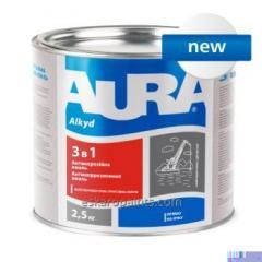 "Priming emalj korrosions alkyd-uretan AURA «3 i 1"""