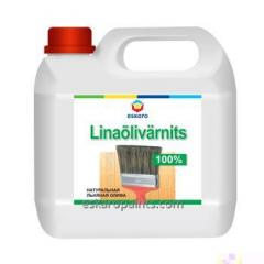 Льняная олифа Eskaro Linaõlivärnits 1л